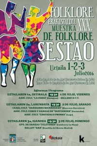 Muestra de Folklore de Sestao 2016